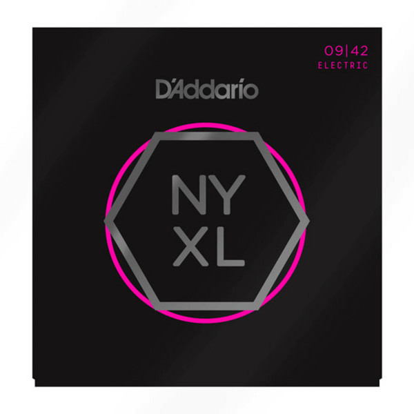 D'Addario NYXL Electric Guitar Strings, 09-42
