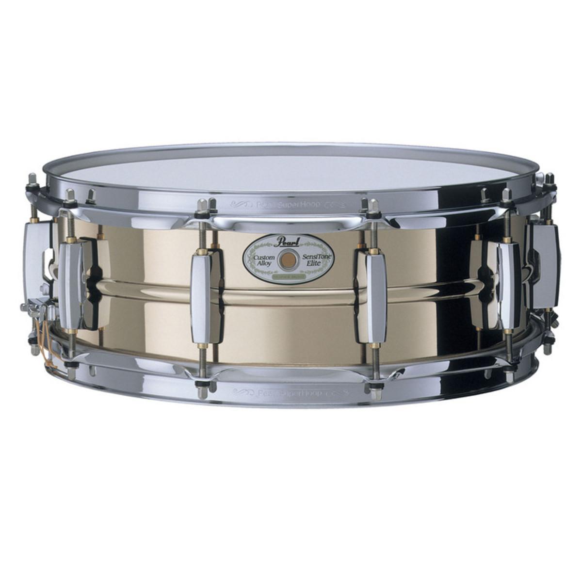 disc pearl sensitone elite 14 39 39 x 5 39 39 snare drum phosphor bronze gear4music. Black Bedroom Furniture Sets. Home Design Ideas
