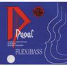 Dogal Flexibass kontrabass E streng, 1/2