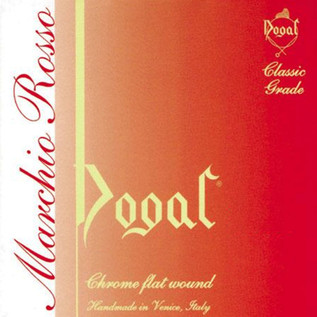 Dogal Red Label Cello String Set, 1/2-1/4