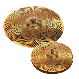 Zildjian Gen16 Buffed Bronze 2 Cymbal Set with Pickups and Processor