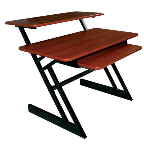 Quiklok Z-250 Triple Shelf Workstation, Cherry