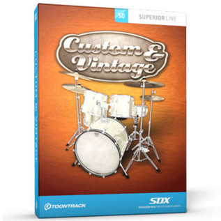 Toontrack SDX: Custom and Vintage UPGRADE