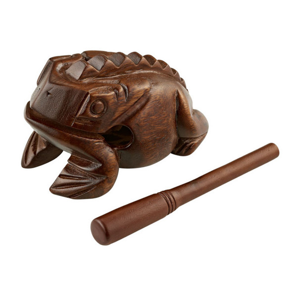 Meinl Medium Wooden Frog, Brown