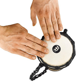 Meinl 4.5 Inch Mini Djembe, Dark Serpent