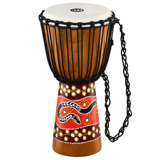 Meinl Headliner Series Rope Tuned 10 Inch Djembe, Python