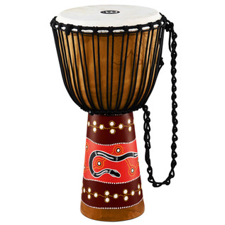 Meinl Headliner Series Rope Tuned 13 Inch Djembe, Python
