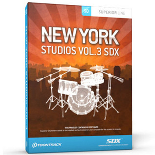 Toontrack SDX New York Studios Vol 3