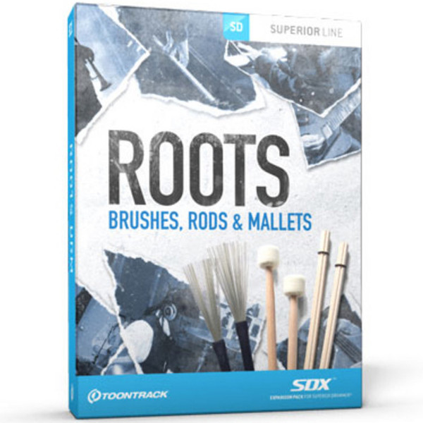 Toontrack SDX: Roots - Brushes, Rods and Mallets