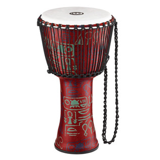 Meinl Travel Series 12 inch Djembe Synthetic Head, Pharaoh's Script