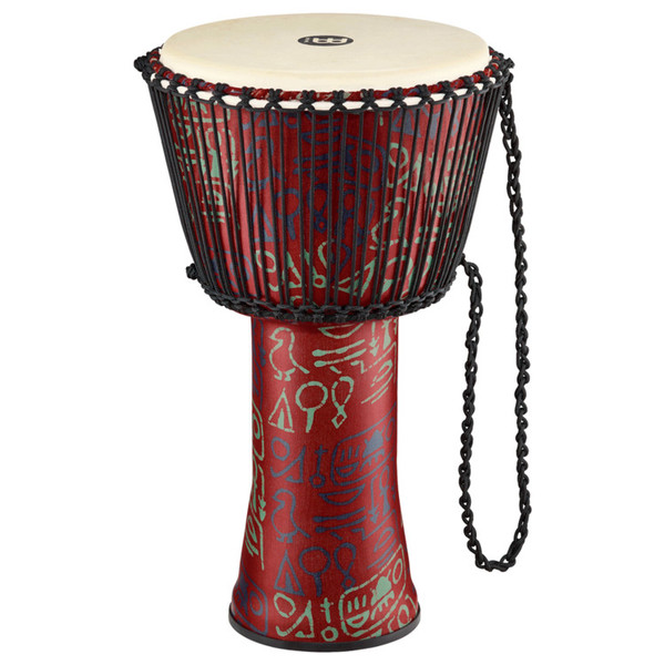 Meinl Travel Series 14 Inch Djembe Goat Head, Pharaoh's Script