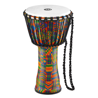 Meinl Travel Series 10 Inch Djembe Synthetic Head, Kenyan Quilt