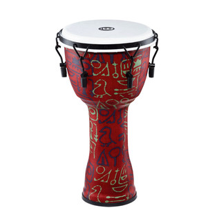 Meinl Travel Series 10 Inch Djembe Synthetic Head, Pharaoh's Script