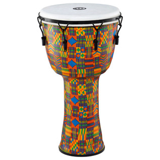 Meinl Travel Series 14 Inch Djembe Synthetic Head, Kenyan Quilt