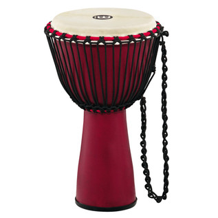 Meinl Journey Series 10 Inch Fibreglass Djembe Goat Head, Crimson Red