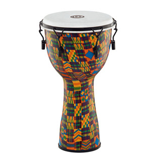 Meinl Journey Series Mechanical Tuned 12'' Djembe Synthetic, Quilt