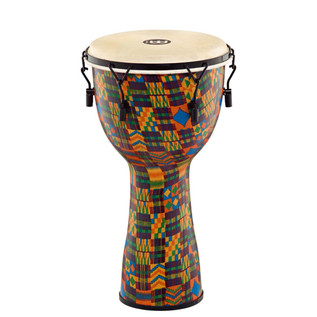 Meinl Journey Series Mechanical Tuned 12'' Djembe Goat Head, Quilt