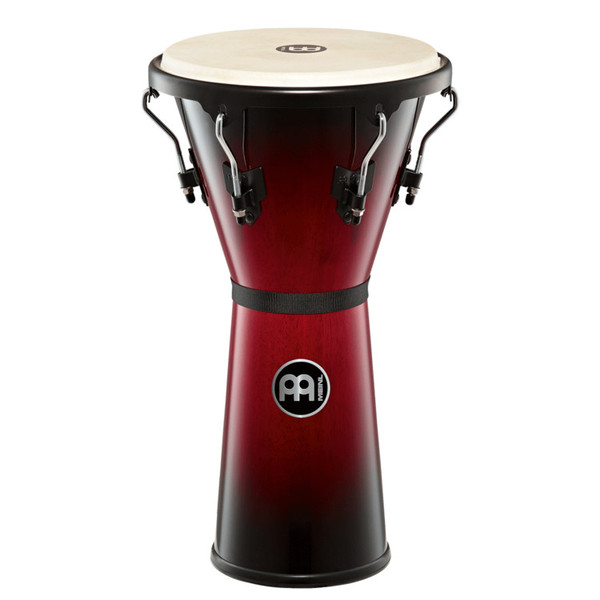 Meinl Headliner Series 12.5 Inch Djembe, Wine Red Burst
