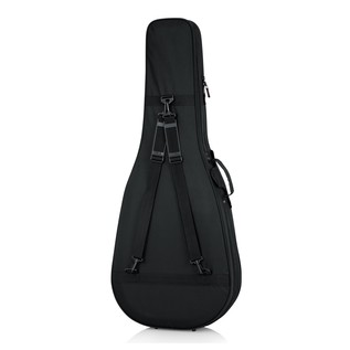 Gator GL-DREAD-12 Rigid EPS Dreadnought Acoustic Guitar Case, Rear with Straps