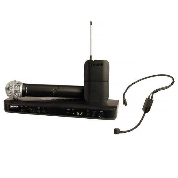 Shure BLX1288UK/P31 Dual Headset and Handheld Wireless Mic System