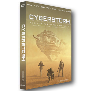 Zero-G Cyberstorm  - Audio FX for Moving Pictures