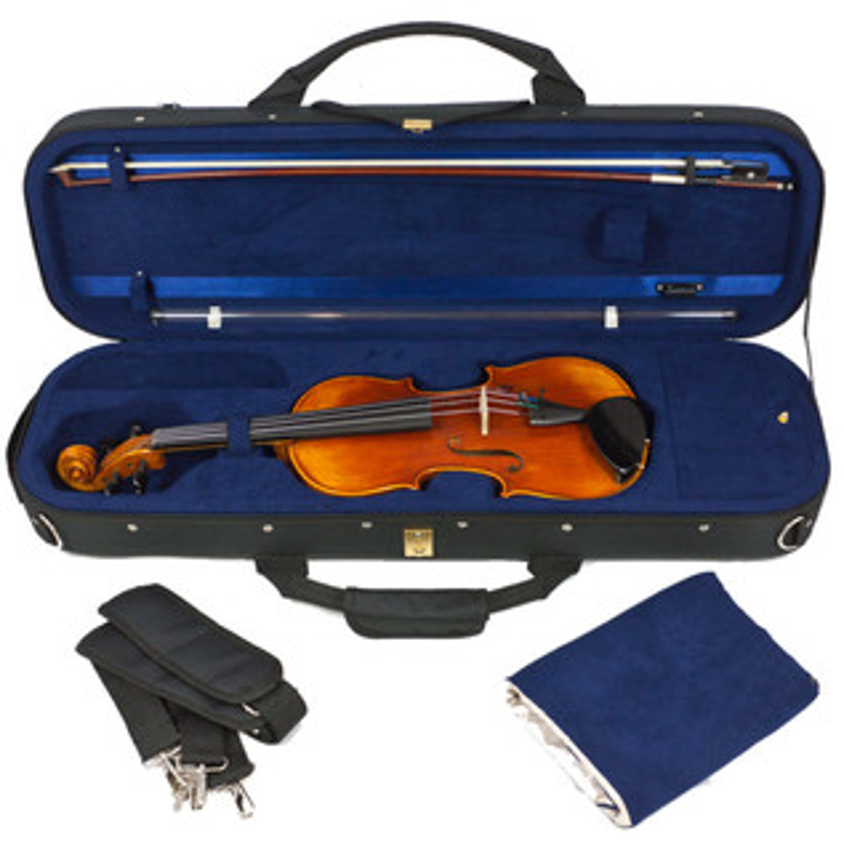 Tom and Will Classic 3/4 Violin Case, Black