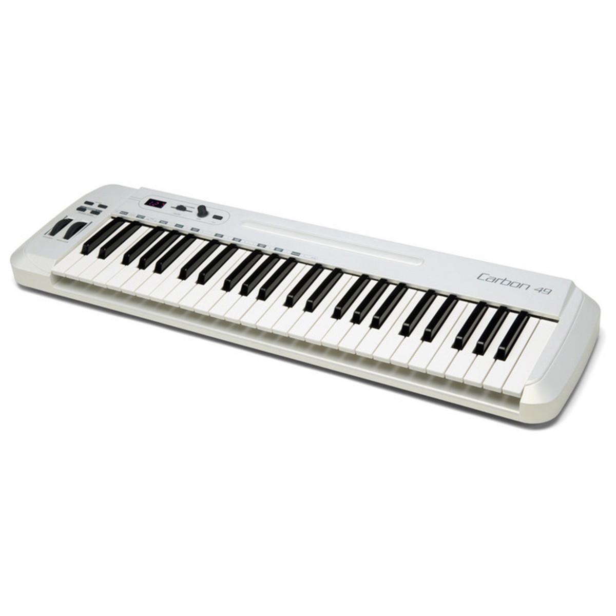 samson carbon 49 usb midi keyboard controller nearly new. Black Bedroom Furniture Sets. Home Design Ideas