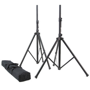 SS20B speaker stands with carry bag