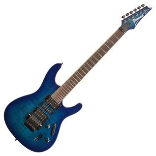 Ibanez S670QM Electric Guitar, Sapphire Blue