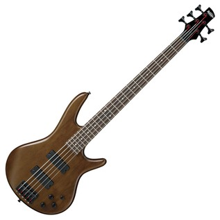 Ibanez GIO GSR205B 5-String Bass Guitar, Walnut Flat