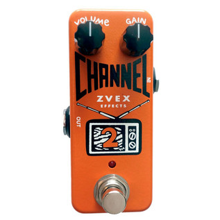 ZVEX Channel 2 Boost and Buffer Micro Pedal