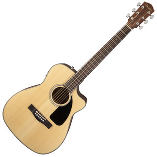 Fender CF-60CE Folk Electro-Acoustic Guitar, Natural