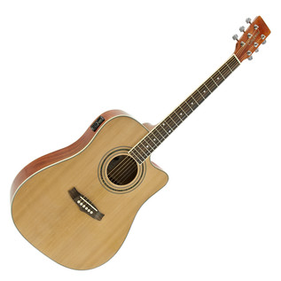 Tanglewood DBT G4M CE Electro Acoustic Guitar, Natural - Exclusive