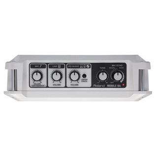 MOBILE BA Battery Powered Stereo Amplifier - controls