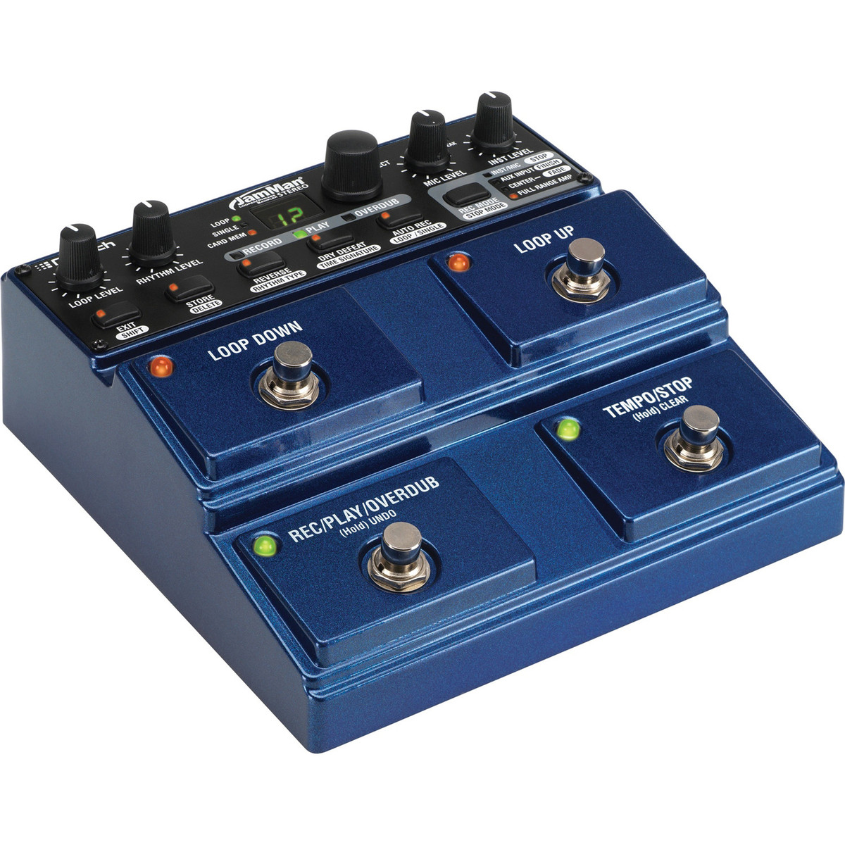 digitech jamman stereo looper phrase pedal at gear4music. Black Bedroom Furniture Sets. Home Design Ideas