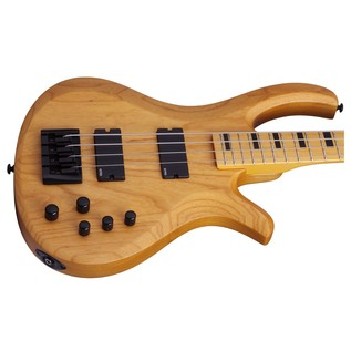 Schecter Riot Session-4 Bass Guitar, Natural Satin