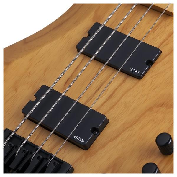 Schecter Riot Session-4 Bass Guitar, Natural