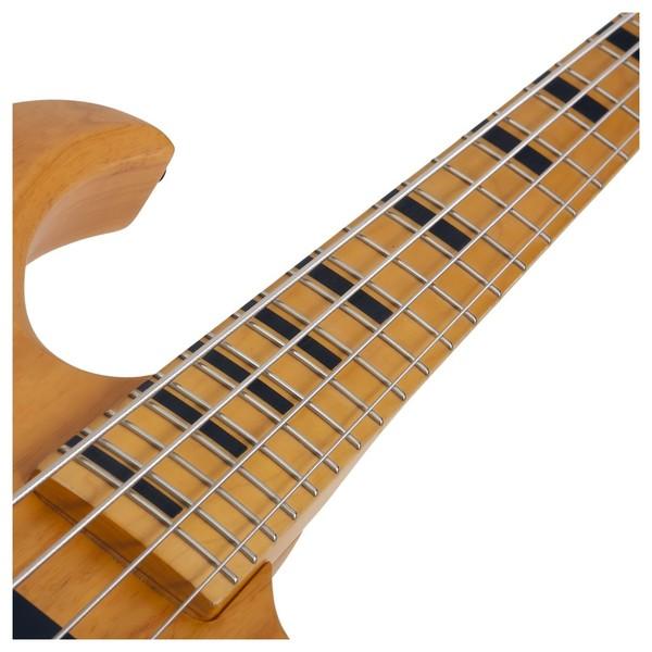 Riot Session-4 Bass Guitar, Natural