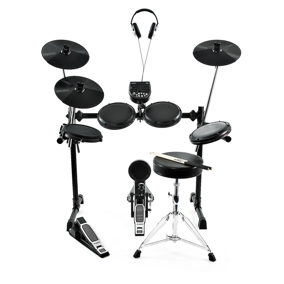 disc alesis dm6 usb electronic drum kit stool headphones sticks at gear4music. Black Bedroom Furniture Sets. Home Design Ideas