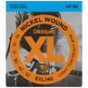 D'Addario EXL140 Cordes en nickel pour guitare électrique, Light Top/Heavy Bottom, 10-52