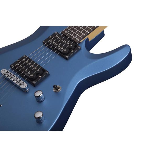 Schecter C-6 Deluxe, Satin Metallic Blue