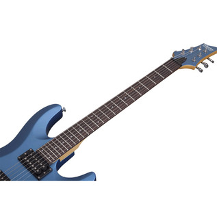 Schecter C-6 Deluxe, Satin Metallic Blue