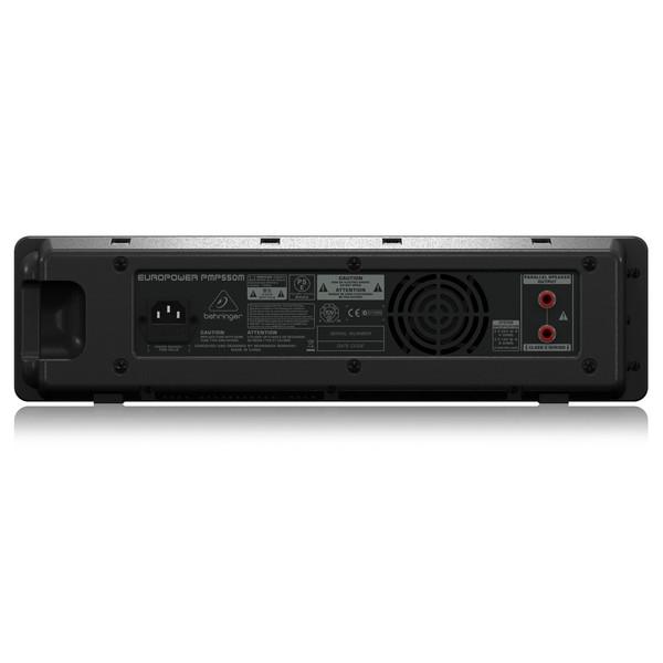 Behringer PMP550M Mixer Amplifier, Rear