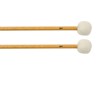 Percussion Plus Soft Mallet For Timpani Soft, Pair