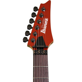 Ibanez RG655 Prestige Electric Guitar, Firestorm Orange Metallic