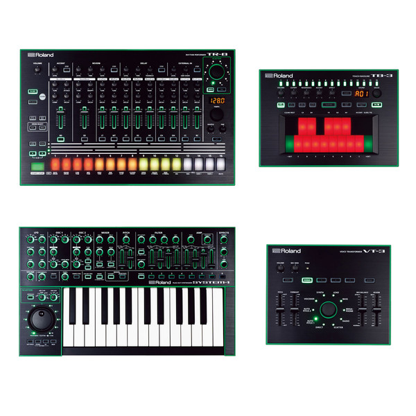 Roland Aira TR-8, TB-3, VT-3 and System-1 Bundle