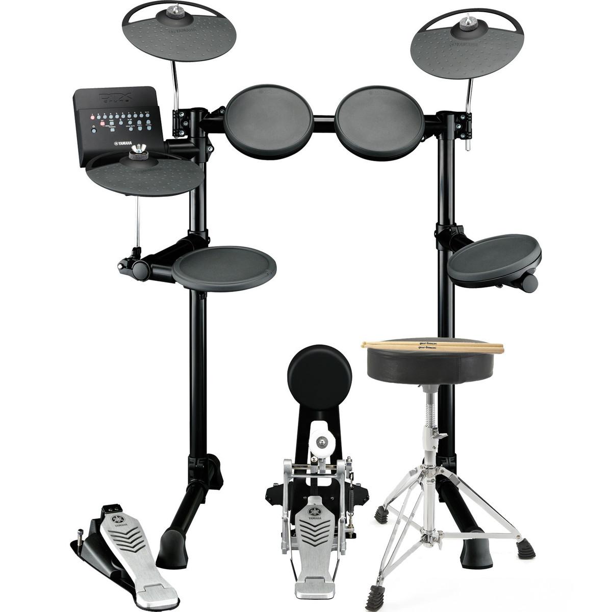 Yamaha dtx450k electronic drum kit with stool and sticks for Yamaha dtx450k 5 piece electronic drum kit