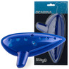 Stagg plastica Ocarina, blu