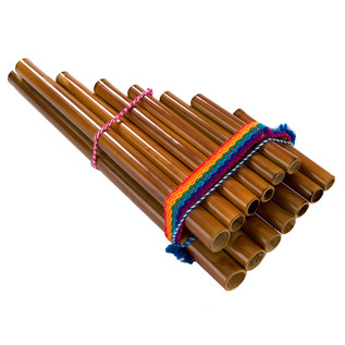 Percussion Plus Peruvian Pan Pipes, 13 Note