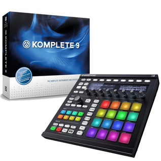 Native Instruments Maschine MK2 (Black) and Komplete 9 Bundle